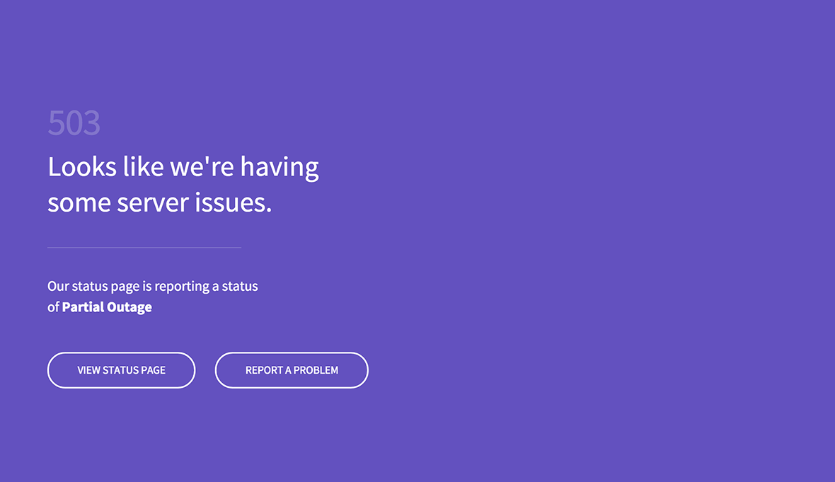 Better Error Pages by Statuspage
